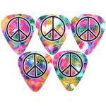 Grover Allman Rainbow Peace Picks