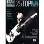 Hal Leonard Tab+ 25 Top Blues Songs