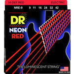 DR Strings HiDef Red Neon Lite 09-42