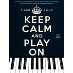 Wise Publications Keep Calm And Play On Blue