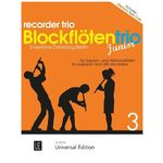 Universal Edition Blockflötentrio Junior Vol.3