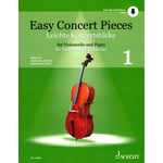 Schott Easy Concert Pieces Cello 1