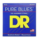 DR Strings Pure Blues Bass Lite 40-100