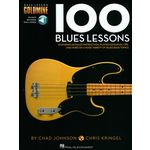 Hal Leonard 100 Blues Lessons Bass