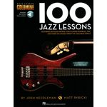 Hal Leonard 100 Jazz Lessons Bass