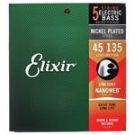 Elixir 14207 Nanoweb 5-Str. Light/Med