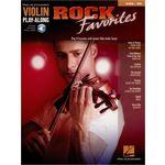 Hal Leonard Violin Play-Along Rock Favorit