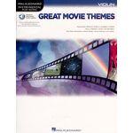 Hal Leonard Great Movie Themes Violin