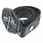 Rockys Belt Jazz-Blues Black 105