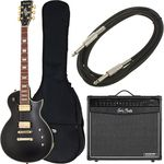 Harley Benton SC-Custom Vintage Black Bundle