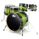 DW Satin Specialty Green Burst