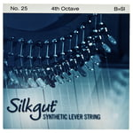 Bow Brand Silkgut 4th B Harp Str. No.25