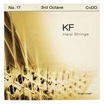 Bow Brand KF 3rd C Harp String No.17