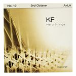Bow Brand KF 3rd A Harp String No.19