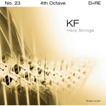 Bow Brand KF 4th D Harp String No.23