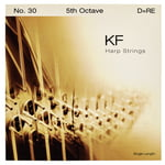 Bow Brand KF 5th D Harp String No.30
