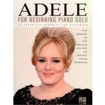 Hal Leonard Adele For Beginning Piano Solo