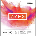 Daddario DZ611-3/4L Zyex Bass G light