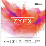 Daddario DZ612-3/4L Zyex Bass D light