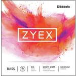 Daddario DZ611-3/4M Zyex Bass G med.