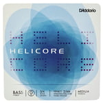 Daddario HH611-3/4M Helicore Bass G Med