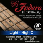 Fodera 5-String High C Set Light SS