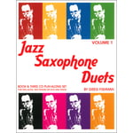 Greg Fishman Jazz Studios Jazz Saxophone Duets Vol.1