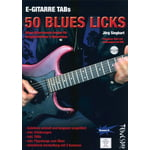 Tunesday Records 50 Blues Licks Buch / DVD