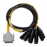 Avid DB25 - XLR M+F AES/EBU 4'