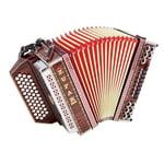 Zupan Alpe IVD Harmonika G/C/F/Bb