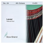Bow Brand NG 4th C Gut Harp String No.24