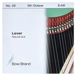Bow Brand NG 5th E Gut Harp String No.29