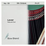 Bow Brand NG 5th A Gut Harp String No.33