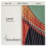 Bow Brand BW 6th A Harp Bass Wire No.40