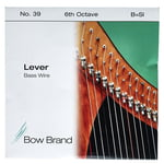 Bow Brand BW 6th B Harp Bass Wire No.39