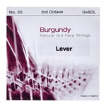Bow Brand Burgundy 3rd G Gut Str. No.20