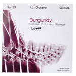 Bow Brand Burgundy 4th G Gut Str. No.27