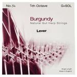 Bow Brand Burgundy 5th G Gut Str. No.34