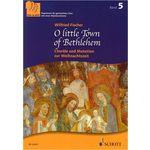 Schott O Little Town Of Bethlehem SAB