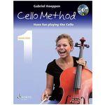 Schott Cello Method Lesson Book 1