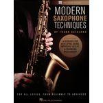 Hal Leonard Modern Saxophone Techniques