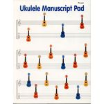 Wise Publications Ukulele Manuscript Paper