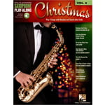 Hal Leonard Saxophone Play Along Christmas