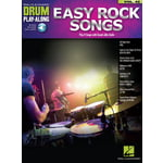 Hal Leonard Drum Play-Along Easy Rock