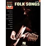 Hal Leonard Easy Rhythm Guitar: Folk Songs