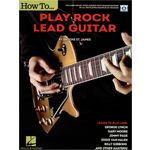 Hal Leonard How to play Rock Lead Guitar