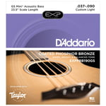 Daddario EXP Acoustic Bass GS Mini Bass