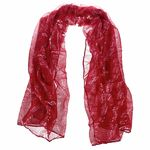 Musikboutique Hahn Scarf Sheet Music Red