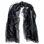 Musikboutique Hahn Scarf Sheet Music Black