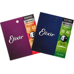Elixir Acoustic/E-Guitar Bundle